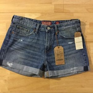 Lucky Brand Boyfriend Denim Shorts